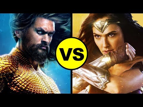 AQUAMAN vs Wonder Woman