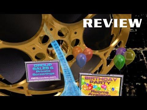 Regal Cinemas Roller Coaster Review