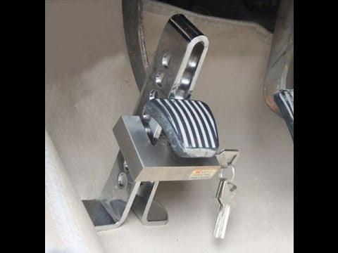 The Auto Brake Lock Anti Theft Device Review And Instructions