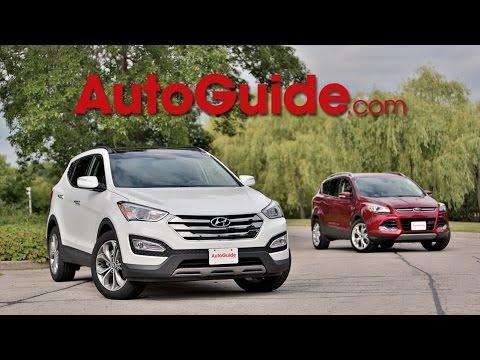 2014 Ford Escape vs. 2014 Hyundai Santa Fe