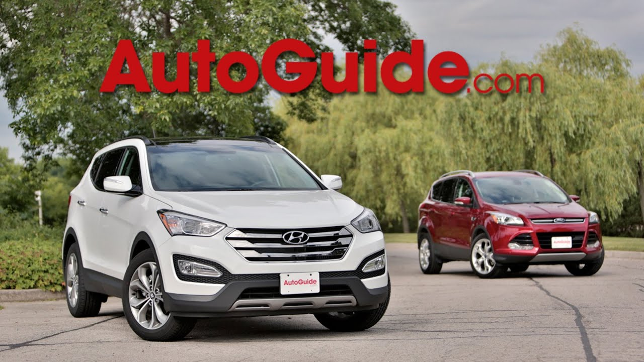 hyundai santa fe and ford cuga