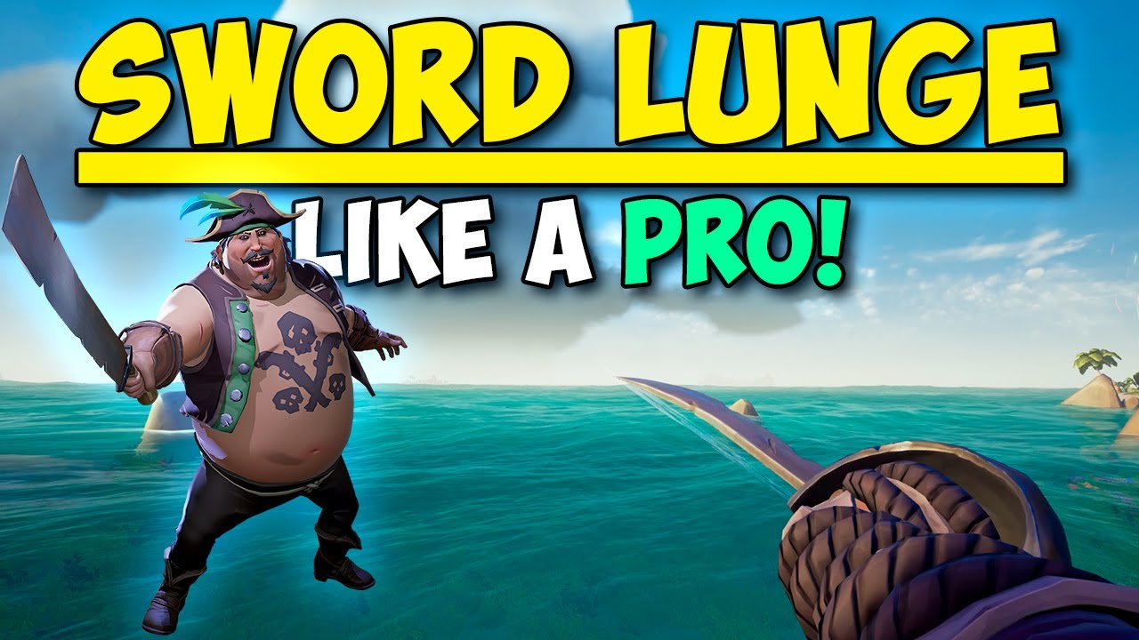 How To Sword Lunge Like a Pro in Sea of Thieves!