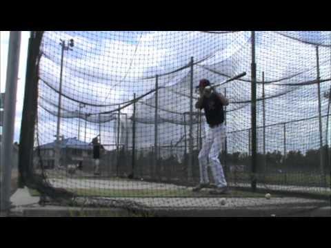 Chad Lenz - Hitting - www.playinschool.com