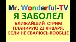 Mr. Wonderful -TV Смотрите Стрим, 20 января. 2019, ПЕРЕВОДЧИК-СИНХРОНИСТ ЖИВОЙ УРОК АНГЛИЙСКОГО
