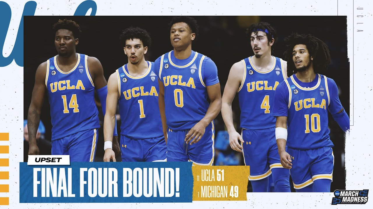 UCLA vs. Michigan - Elite Eight NCAA tournament extended highlights