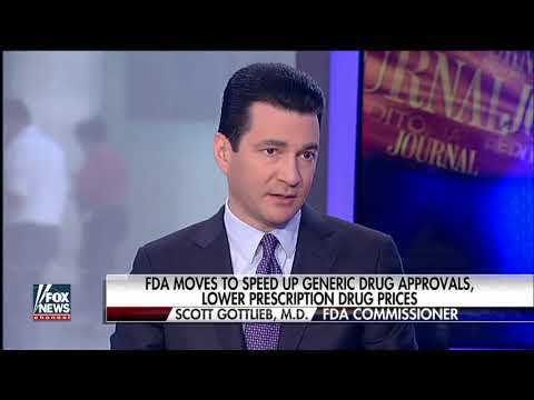 FDA on target to approve record number of generic drugs