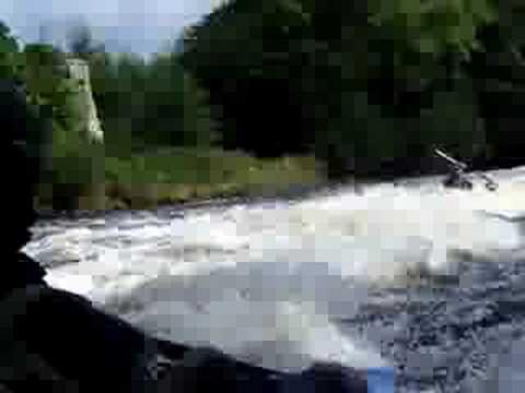 Clashganny Weir on River Barrow