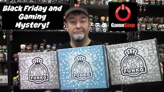 Gamestop Mystery Boxes Unboxing/Review - Black Friday and Gaming!