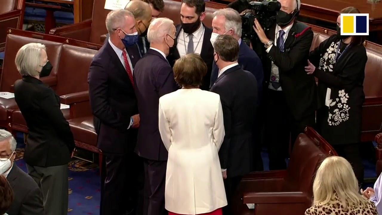 WATCH LIVE: US President Joe Biden addresses Congress