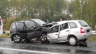 ДТП. Подборка аварий за Январь 2019 #97