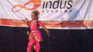 Indian classical christian song- Indus Academy kids