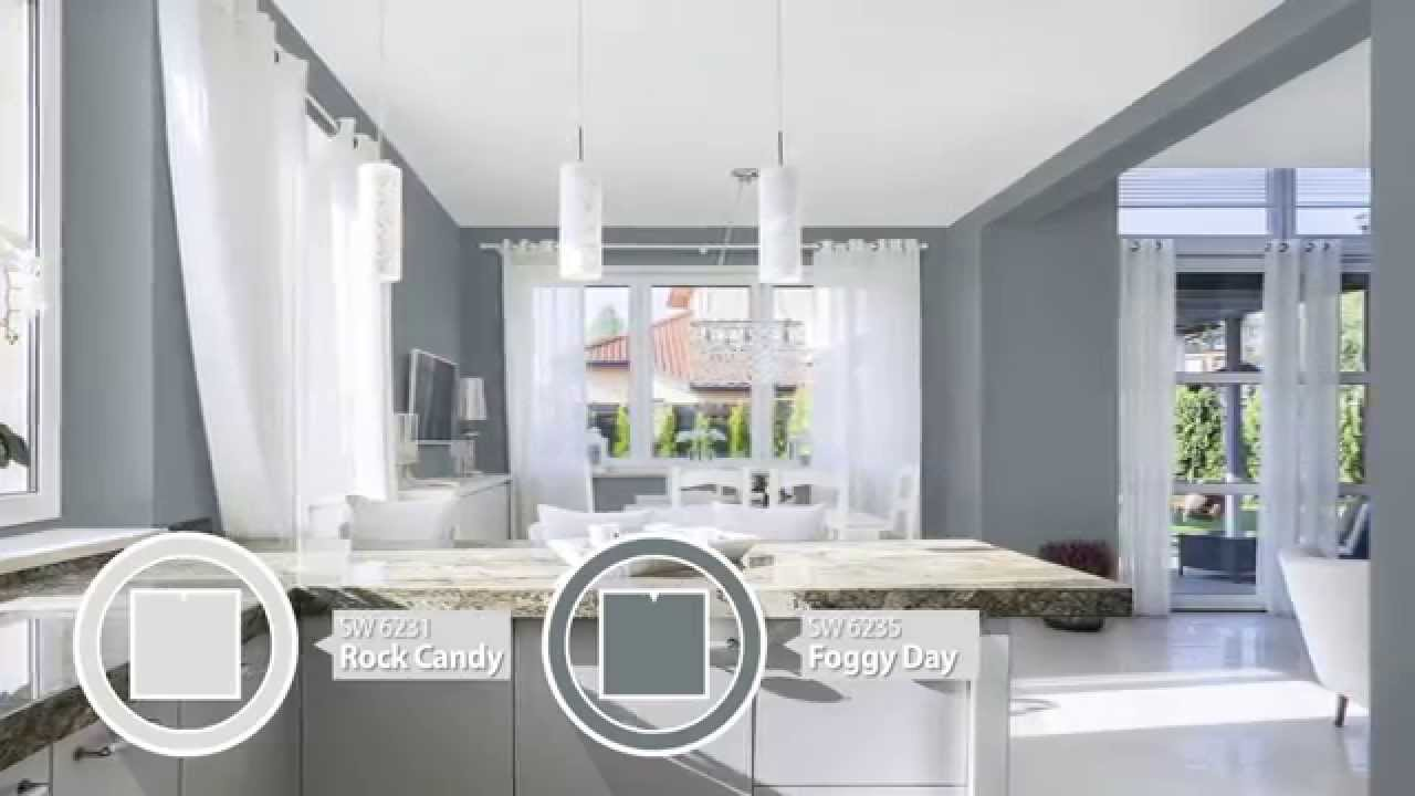 connect rooms with color sherwin williams youtube