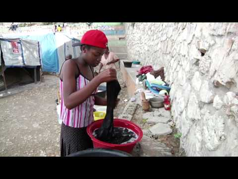 Shasha's story: UNICEF revisits a Haitian girl in a camp for the displaced