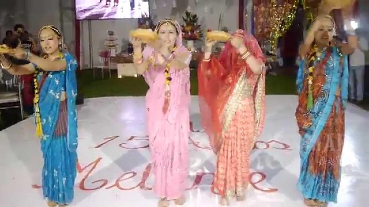 Trailer de 15 a os melany fiesta tem tica hind youtube - Decoracion indu ...