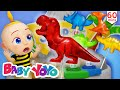 The Colors Song (Surprise Eggs for Dinosaur candy) + more nursery rhymes & Kids songs - Baby yoyo
