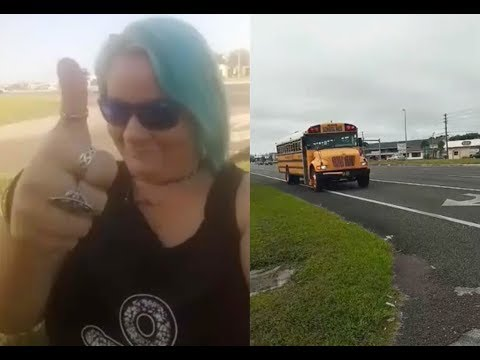 Watch this Hudson mother cheer deputies cracking down on bus stop violations