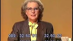 BR Bilderbogen Ruth Kappelsberger 10.10.1984