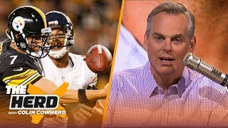Colin Cowherd questions Big Ben's character & Raiders brass talking about AB trade | NFL | THE HERD