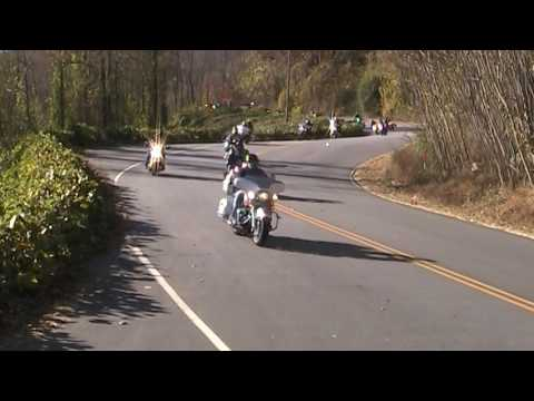 Polk County Motorcycle Toy Run Saluda to Columbus North Carolina