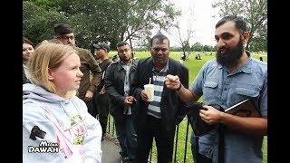 "Meredith Asks Subboor Ahmad ""Why You Believe in Islam""   Speakers Corner thumbnail"