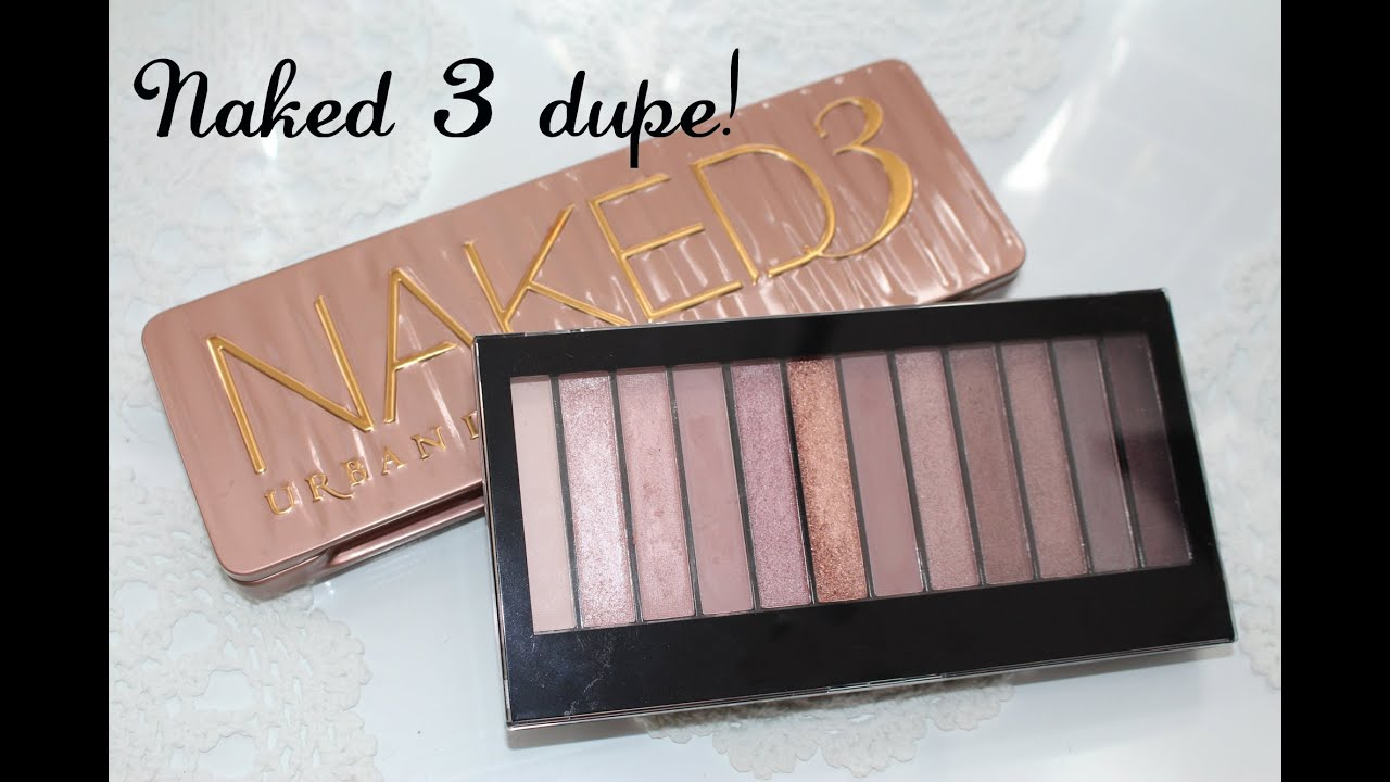 Extrêmement Urban Decay Naked 3 palette dupe! Amazing! - YouTube KM62