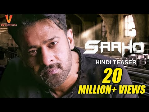 Saaho - Official Hindi Teaser | Prabhas,...