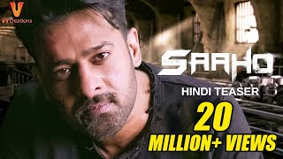Saaho - Official Hindi Teaser | Prabhas, Sujeeth