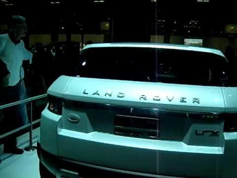 Land Rover Lrx Concept 2008 Range Rover Evoque 2012 Youtube