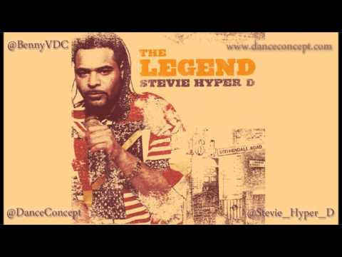 Stevie Hyper D - The Legend CD mixed by Benny V