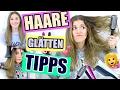 HAARE GLÄTTEN - Methoden, Hacks, Tipps & Tricks! ♡ BarbieLovesLipsticks