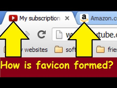 Favicon Icon For Your Website