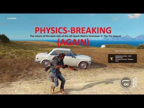 Physics-Breaking AGAIN | Just Cause 3 Mod Showcase
