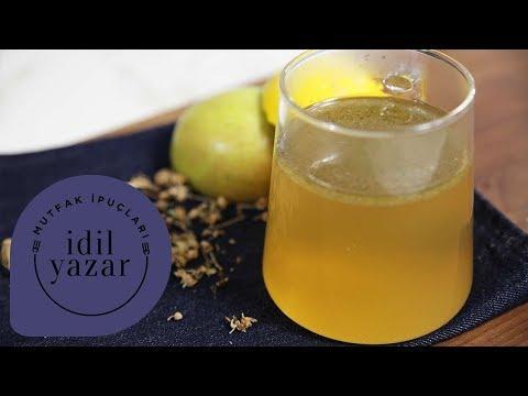 Grip ve Soğuk Algınlığına İyi Gelen Çay Tarifi | İdil Yazar ile Yemek Tarifleri