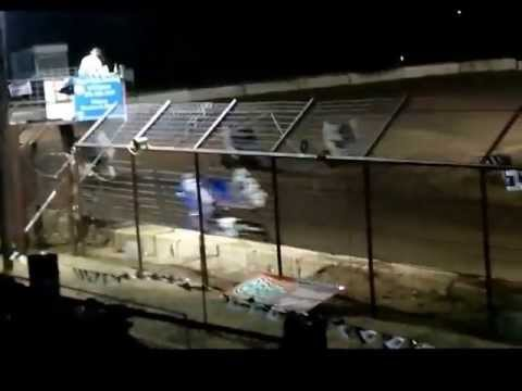 Cajun Outlaw Sprints Feature Race at Flomaton Speedway 5-18-2013