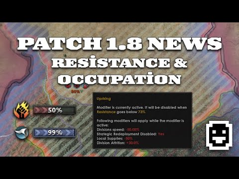 Resistance & Occupation Overhaul in 1 8 'Husky' | Dev Diary Analysis