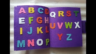 Hello everyone, in this video you will learn to make a quiet book for kids. here i shared the method create using felt fabric sheets. no sewing is ...