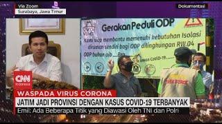 Jatim Menjadi Provinsi dengan Kasus Covid-19 Terbanyak