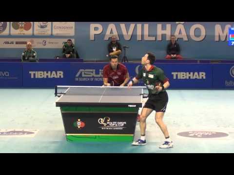 João Monteiro (POR) vs Vladimir Samsonov (BLR) - 1/4 Final - Top16