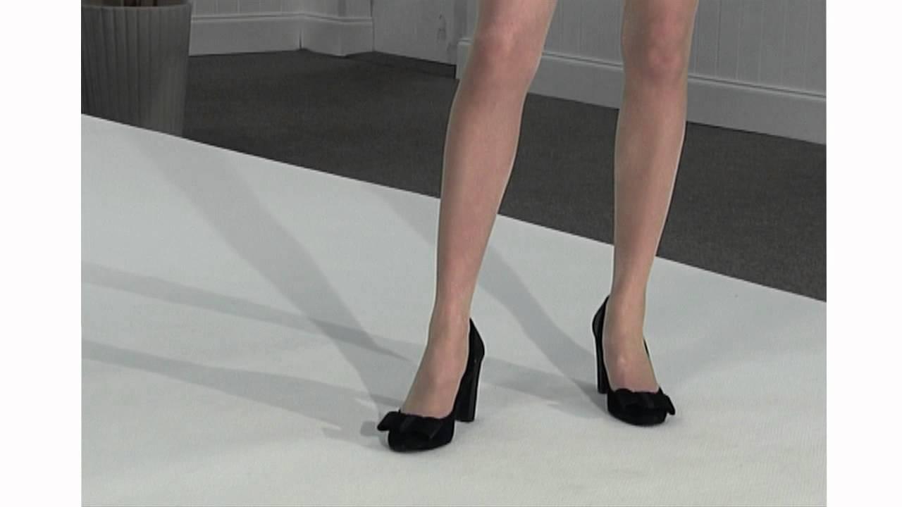 4a3e5175b29 Tightsplease - Charnos 24 7 Sheer Hold Ups Catwalk - YouTube