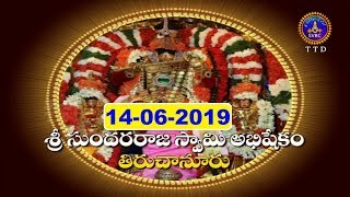 Sri Sundararajaswami Abhishekam-Tiruchanoor | 14-06-19 | SVBC TTD