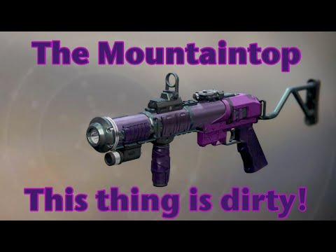 Destiny 2 - The Mountaintop Review - You Have to Get This!