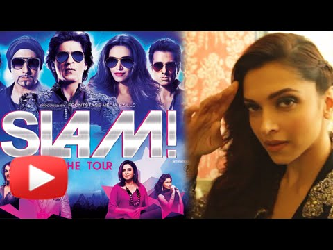SLAM ! The Tour 2014 | Selfie Video | Deepika Padukone