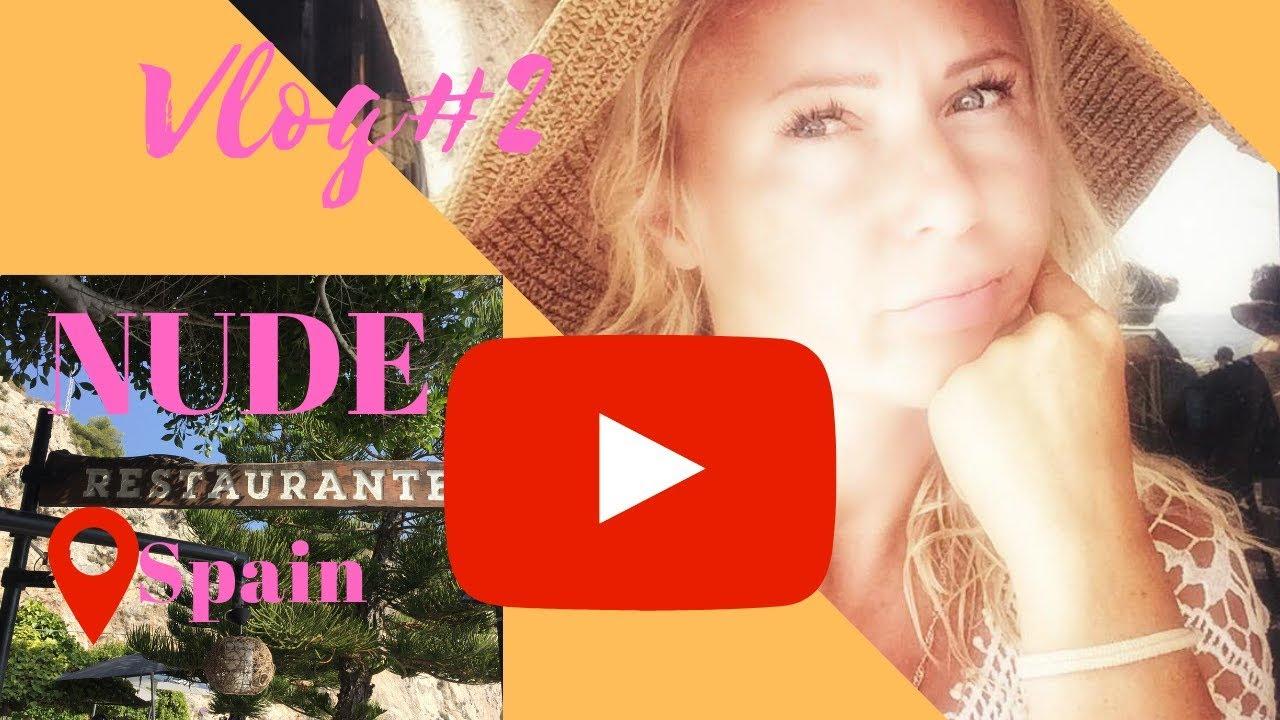 Vlog 2 Nude Restaurants In Spain Youtube