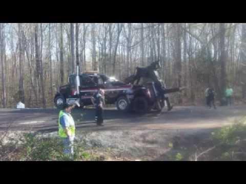 4 Large Trucks Wrecked in Powhatan Va - Llewellyn