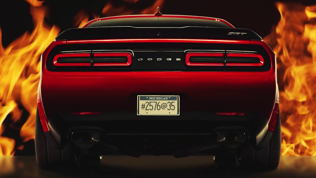 Dodge demon teaser