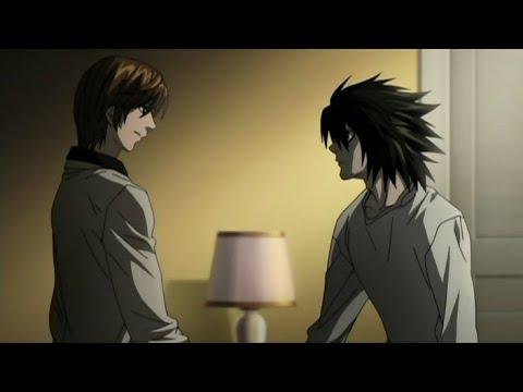 Death Note: Non-Kira Light Yagami meets L