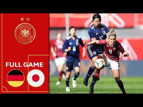 Germany vs. Japan 2-2   Full Game   Women's Friendly