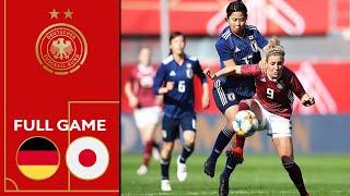 Germany vs. Japan 2-2 | Full Game | Women's Friendly