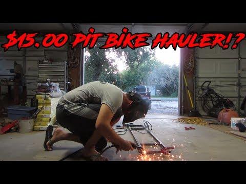 DIY Dirt Bike Rack