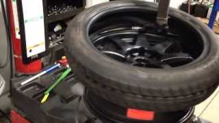 125 70 16 spare tire stretch on a full size rim